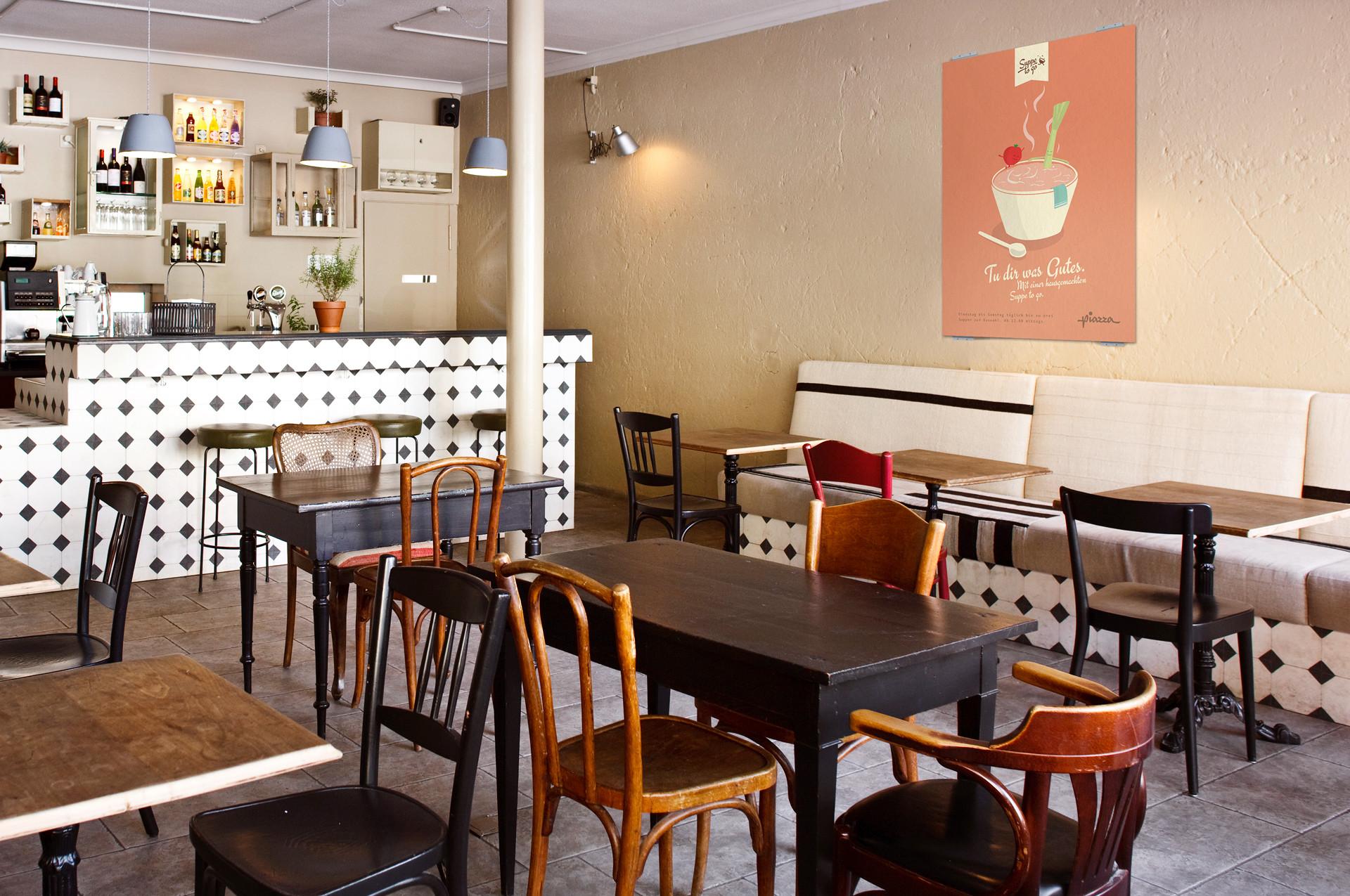 Leandro Disler Piazza Restaurant